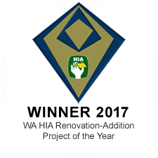 WA HIA renovation - addition project of the year